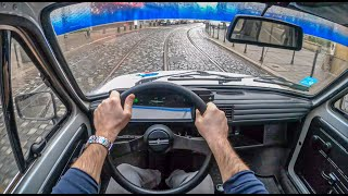 Fiat 126p   4K POV Test Drive #363 Joe Black