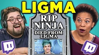 Gambar cover ADULTS REACT TO LIGMA (Ninja Death Hoax)