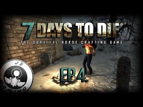 [CZ-LP] 7 Days to die #4 - Lov zvířat a příprava tvorby pece