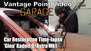 Classic Car Restoration Time-Lapse Opel Kadett D Astra Mk1