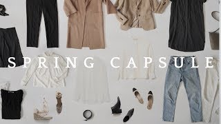 22 Pieces, Over 40 Outfits | Spring Capsule Wardrobe
