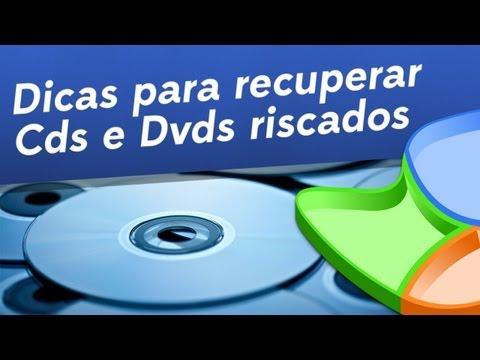 Utilidade: Recupere CDs e DVDs arranhados!