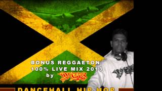 DJ NAT'S BEST OF JAMAICAN DANCEHALL HIP HOP LIVE MIXX 2013 + BONUS REGGAETON (High Quality Mp3)