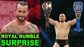 10 Last Second WWE Royal Rumble 2020 Rumors & Spoilers - CM Punk Returns