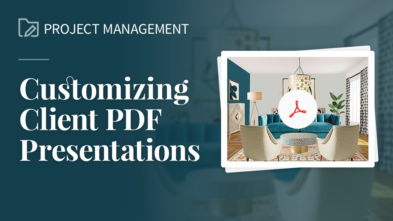 Customizing Client PDF Presentations
