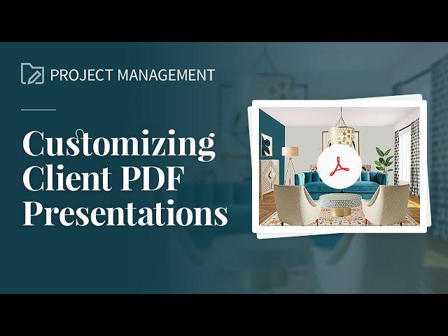 Customizing Client PDF Presentations