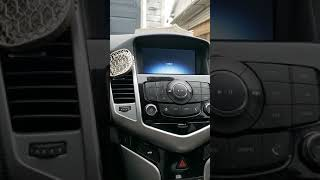 2015 Chevy cruze radio locked