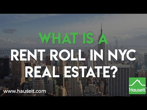 What Is a Rent Roll in NYC Real Estate? (2019) | Hauseit®