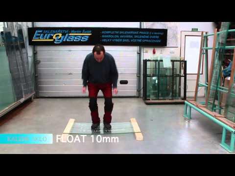 Crash test 2 - Bezpečnostní skla
