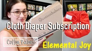 Elemental Joy Cloth Diaper Subscription Unboxing & First Impressions Review
