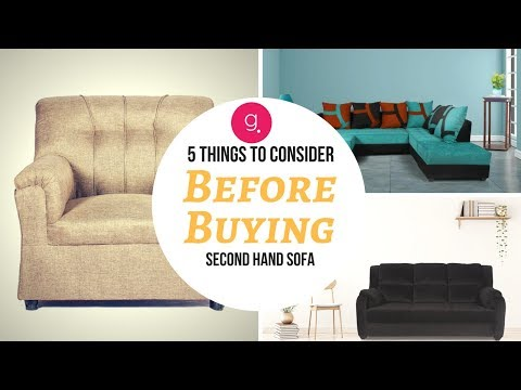 5 Things To Consider Before Buying Second Hand Sofa  Guarented