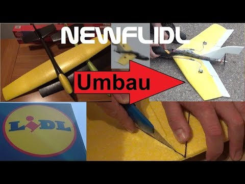 lidl-segelflieger-2019-mit-motor-umbau-zum-newflidl----lidl-xl-glider-conversion