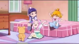 Mahou Tsukai Pretty Cure - Mirai, Riko & Kotoha as kids