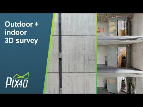 Outdoor and Indoor 3D Survey of St. Elizabeth Tower, Germany