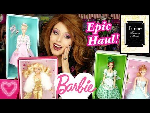 EPIC Barbie Collector & Silkstone HAUL!