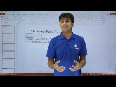 PowerPoint – Basic Presentation
