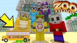 ZOO FIELD TRIP *PART 1* [AQUARIUM!] - Super Nintendo School - (Minecraft Switch) [11]