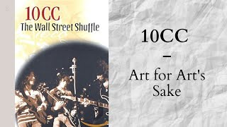 10cc - Art for art's sake