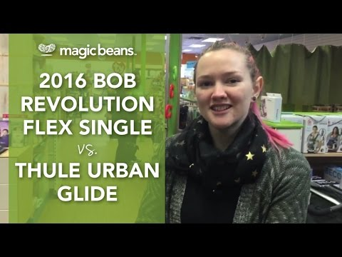 2016 BOB Revolution Flex Single vs Thule Urban Glide Stroller | Comparisons | Prices | Reviews
