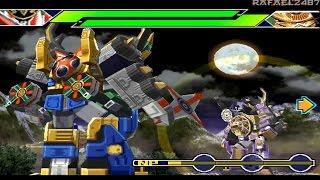 Ninpu Sentai Hurricaneger PS1 (Story Mode Part 6) Satorakura HD