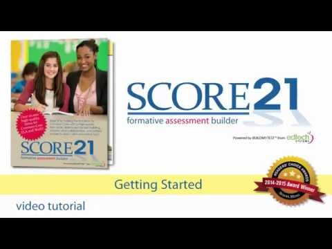 Getting Started with SCORE21