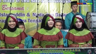 DUET GROUP SHOLAWAT  WALI SONGO SRAGEN JATENG