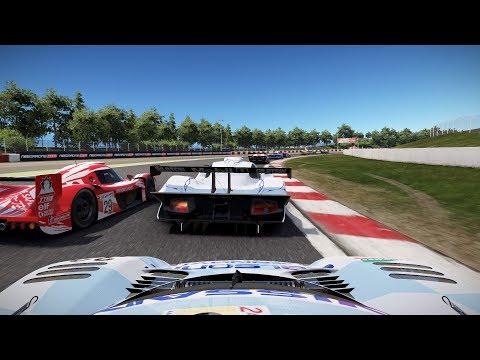 Project CARS 2 Test Race 25 Barcelona Nissan R390 GT1 Longtail Onboard