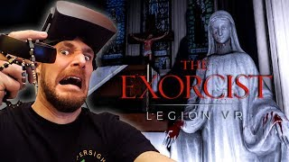 The Exorcist Legion VR - Chapter one Gameplay Scariest game of 2017