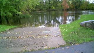 preview picture of video '10/06/10 - The flooded Black River in Lowville, NY (day 1)'