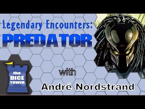 Takras Reviews Predators, with an intro that took two days to make - The Dice Tower