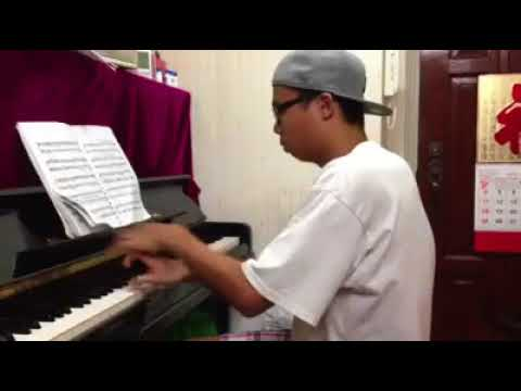 Me playing Prokofiev