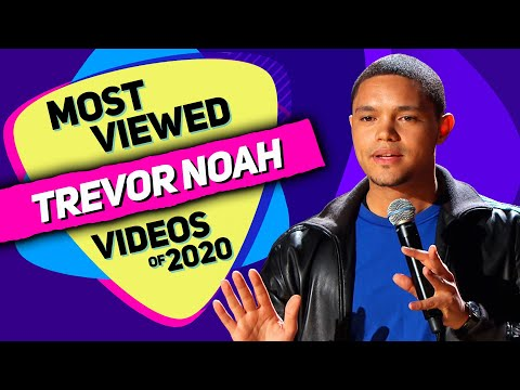 TREVOR NOAH - Most Viewed Videos of 2020 (Various stand-up comedy special mashup)