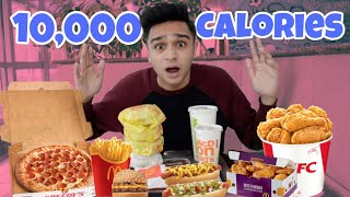 EATING 10,000 CALORIES IN 24 HOURS!!