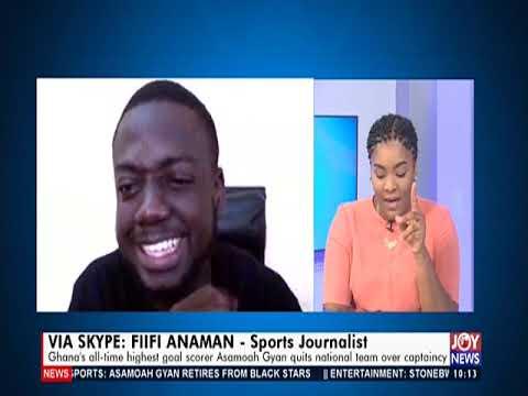 Asamoah Gyan Retires - News Desk on JoyNews (21-5-19)