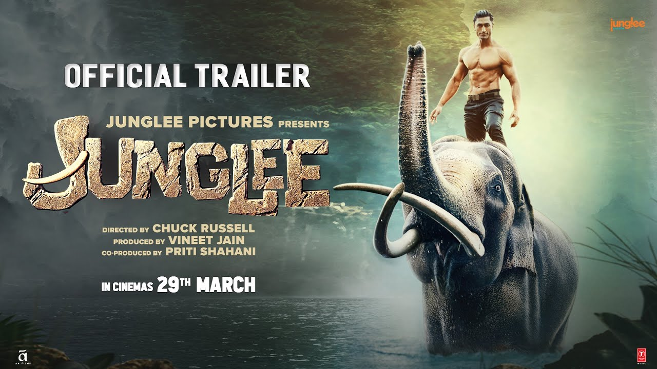 Junglee movie action packed trailer is stunning and engaging