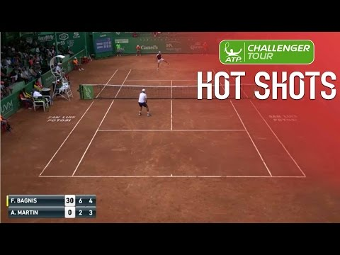Bagnis Goes Through The Legs For San Luis Challenger Hot Shot 2017