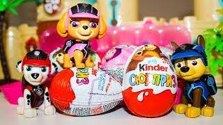 Мультики Щенячий патруль Киндер Сюрпризы Маша и Медведь Мультфильмы про игрушки Видео для детей