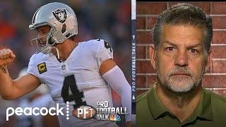 Mike Golic: Las Vegas Raiders used Broncos game as 'safe haven' | Pro Football Talk | NBC Sports
