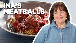 Ina Garten Makes Her Top-Rated Meatballs And Spaghetti | Food Network