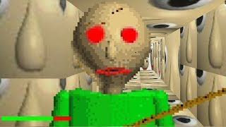 WHAT HAPPENS IF BALDI EDITS YOUR GAME FILES.. || BALDIS BASICS.EXE
