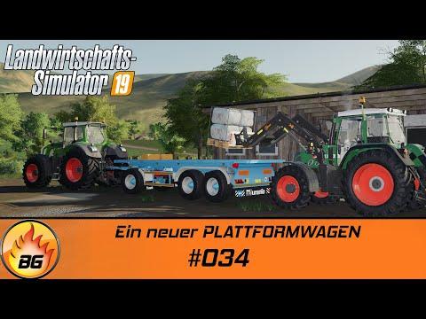 LS19 - LIEBLINGSPROJEKT #034 | Ein neuer PLATTFORMWAGEN | FS19 | Let's Play [HD]