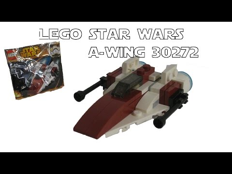 Vidéo LEGO Star Wars 30272 : A-Wing Starfighter (Polybag)