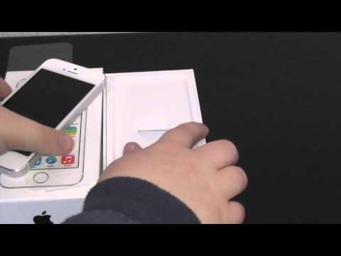 iPhone 5s Weiß/Silber 16gb Unboxing Deutsch