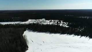 Upper Peninsula Clear Cut FPV flight