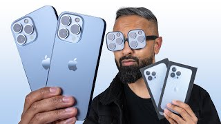 Apple iPhone 13 Pro vs Apple iPhone 13 Pro Max Unboxing - The REAL Deal?