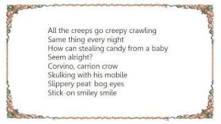 Chumbawamba - Creepy Crawling Lyrics
