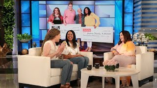Melissa McCarthy's Sunny Surprise for Mother/Daughter College Students