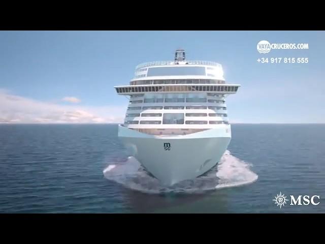 Sé el primero en conocer MSC Grandiosa, el último barco de la compañía MSC Cruceros que comenzará a navegar en noviembre de 2019. Este nuevo buque insignia, será el más grande de toda la flota de MSC Cruceros. Tendrá 11 restaurantes, 21 bares y salones, entretenimiento para todos los públicos con dos nuevos espectáculos de Cirque du Soleil at Sea, y un auténtico paseo de estilo mediterráneo en el corazón del barco. ¡No esperes más! Reserva tu camarote en MSC Grandiosa y disfruta de las mejores vacaciones en crucero!