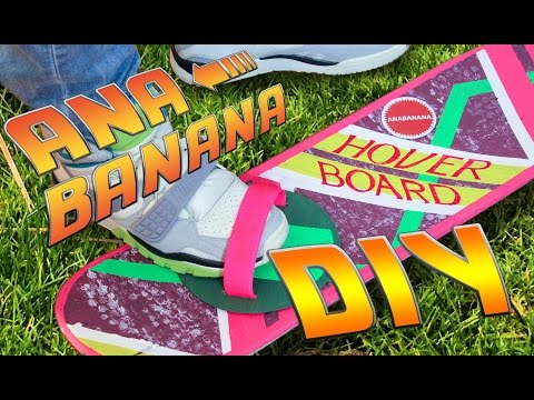Halloween Last Minute DIY Costume | Hoverboard Tutorial | Back to the Future