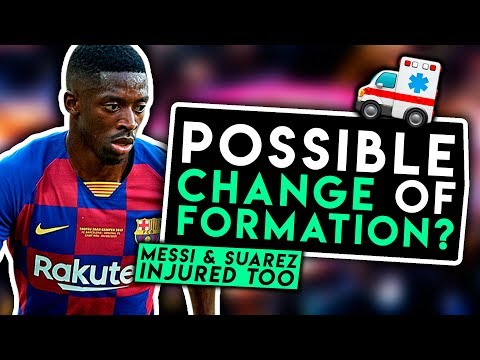 INJURY CRISIS! Dembele out for 5 weeks! WHO WILL PLAY? Barcelona News Today | BugaLuis